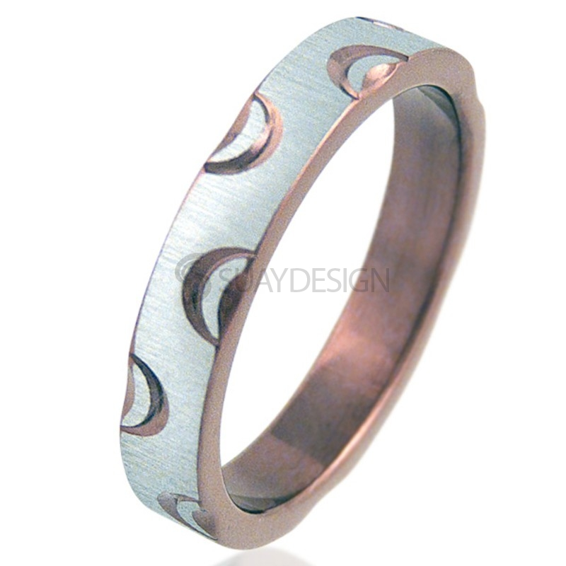 Women's Crescent Coffee Ring