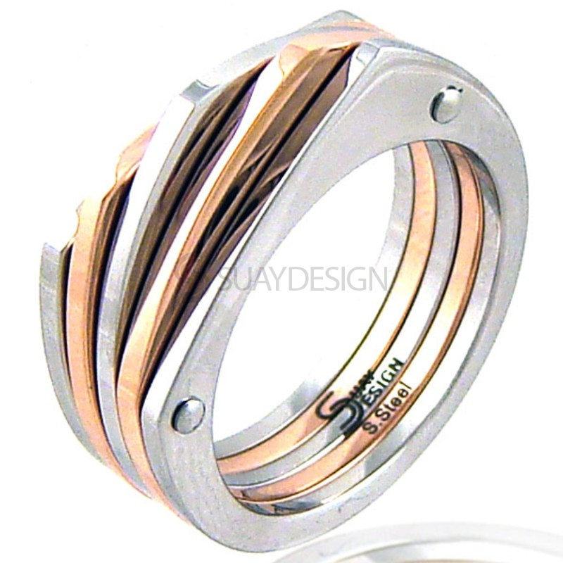 Women's La Sal Rose Steel Ring