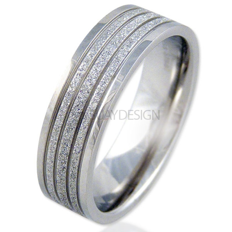 Women's Radiate Steel Ring