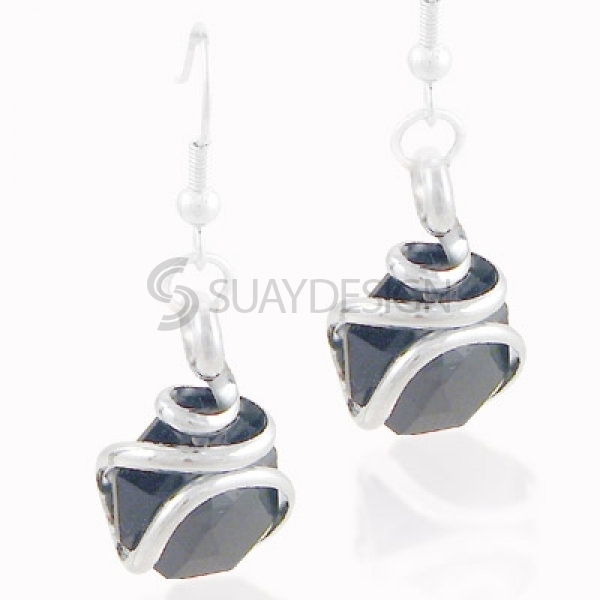 Women's Sassari Nero Earrings