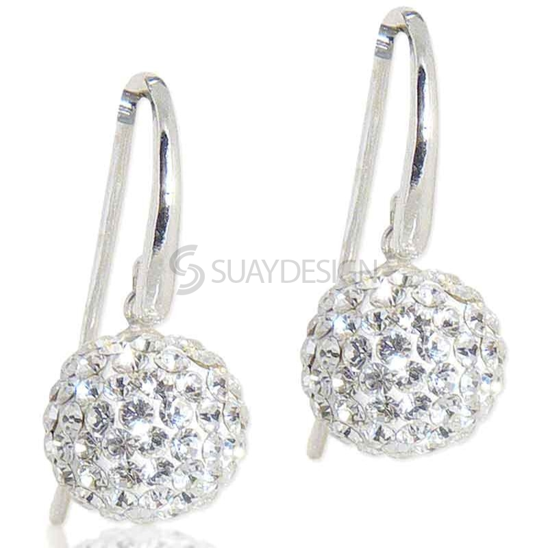 Women's Spangle Crystal Drop Earrings