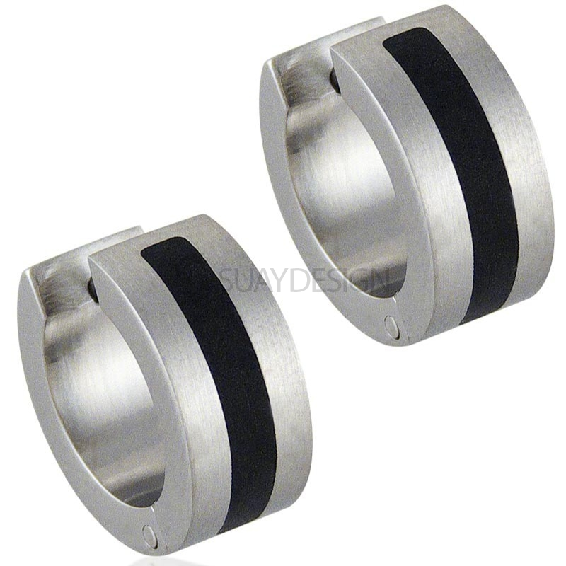 Women's Intense Steel Earrings