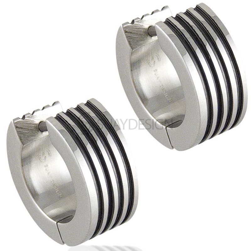 Women's Track Steel Earrings