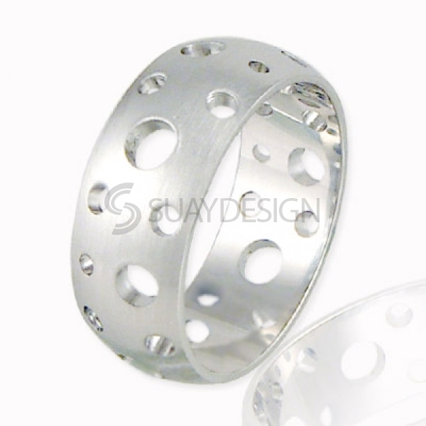 Women's Elipse Stainless Steel Ring