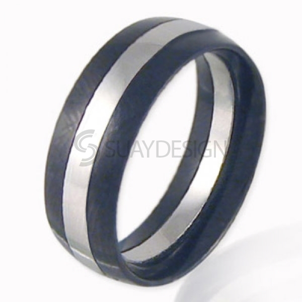 Women's Troika Stainless Steel Ring
