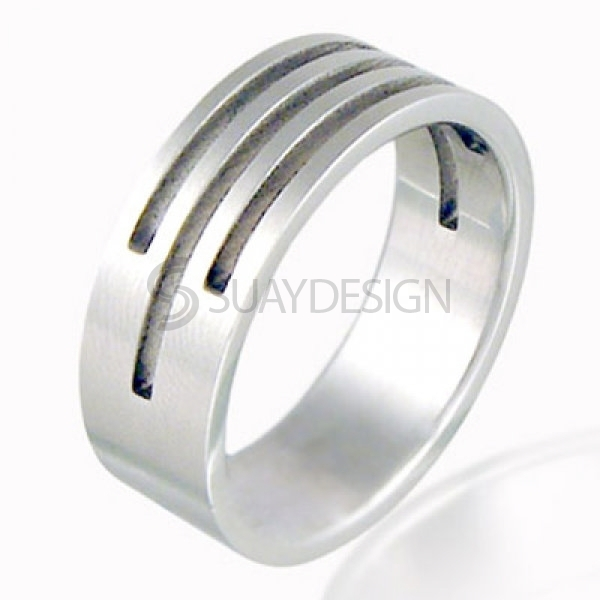 Women's Precision Stainless Steel Ring