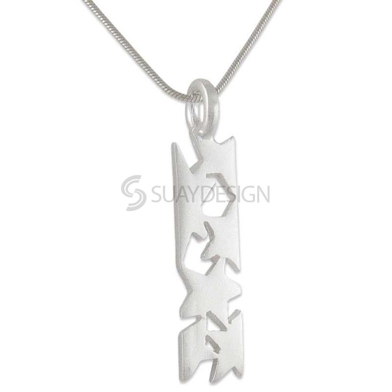 Women's Aquila Mini Silver Necklace