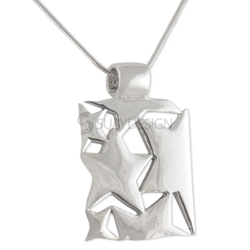 Women's Mira Silver Star Necklace