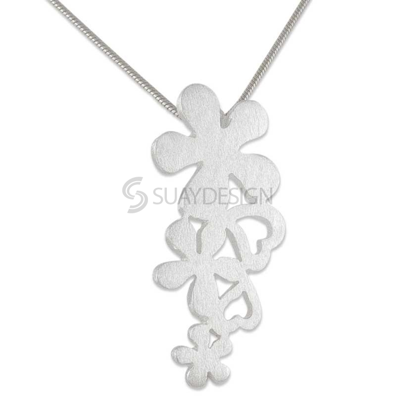 Women's Sylvan Silver Necklace