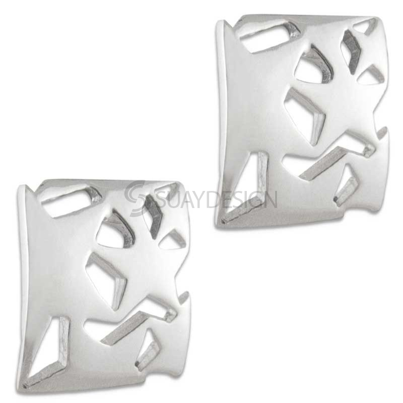 Women's Mira 2 Silver Earrings