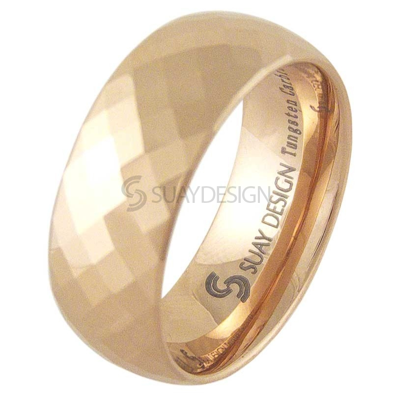 Women's Divine Rose Tungsten Ring