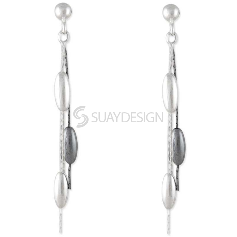 Darling Silver Earrings