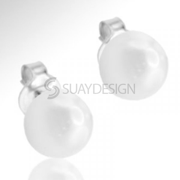 Women's Arctic 6 Pearl Earrings