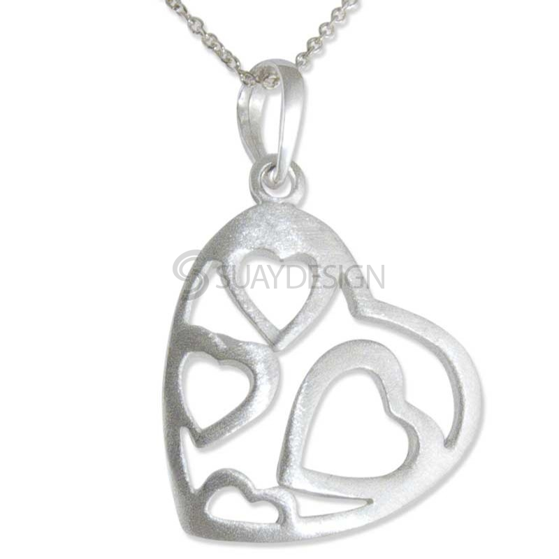 Women's Ador Silver Necklace