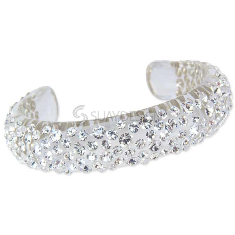 Women's Shimmer Crystal Bangle