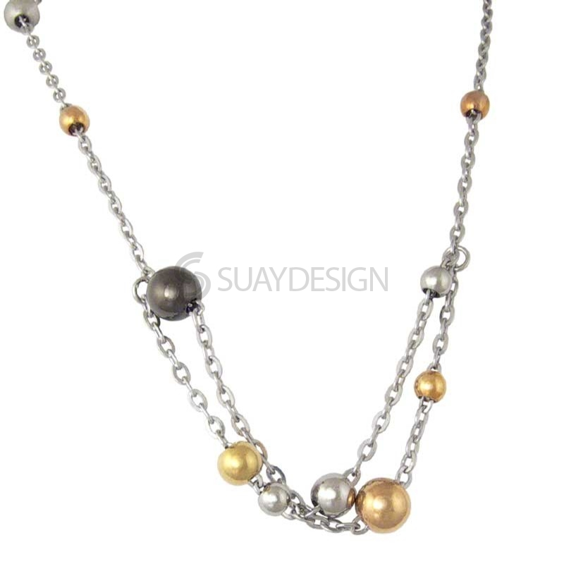Women's Jupiter Steel Necklace