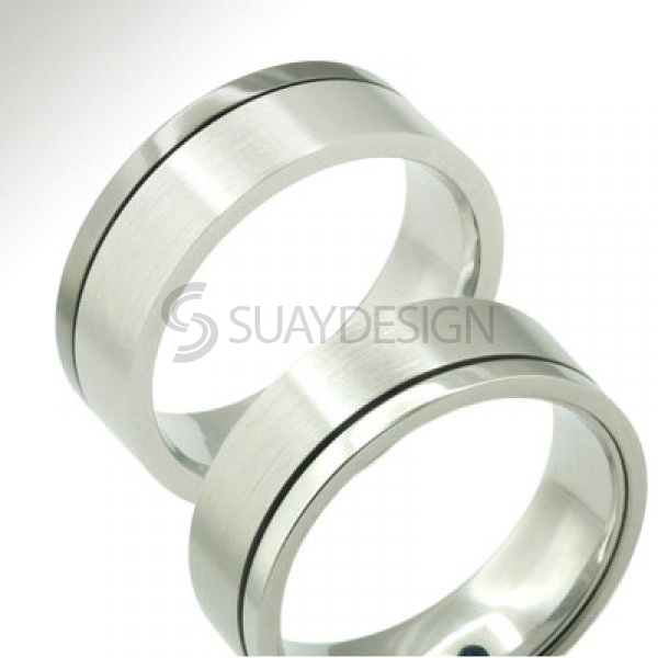 Chameleon Steel Ring