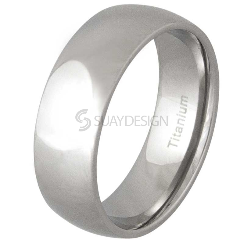 Women's Lust 8 Titanium Ring