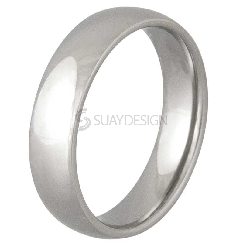 Women's Lust 6 Titanium Ring