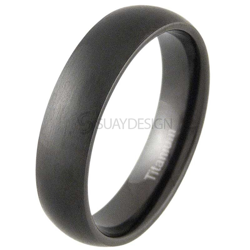 Women's Lust 4 Black Titanium Ring