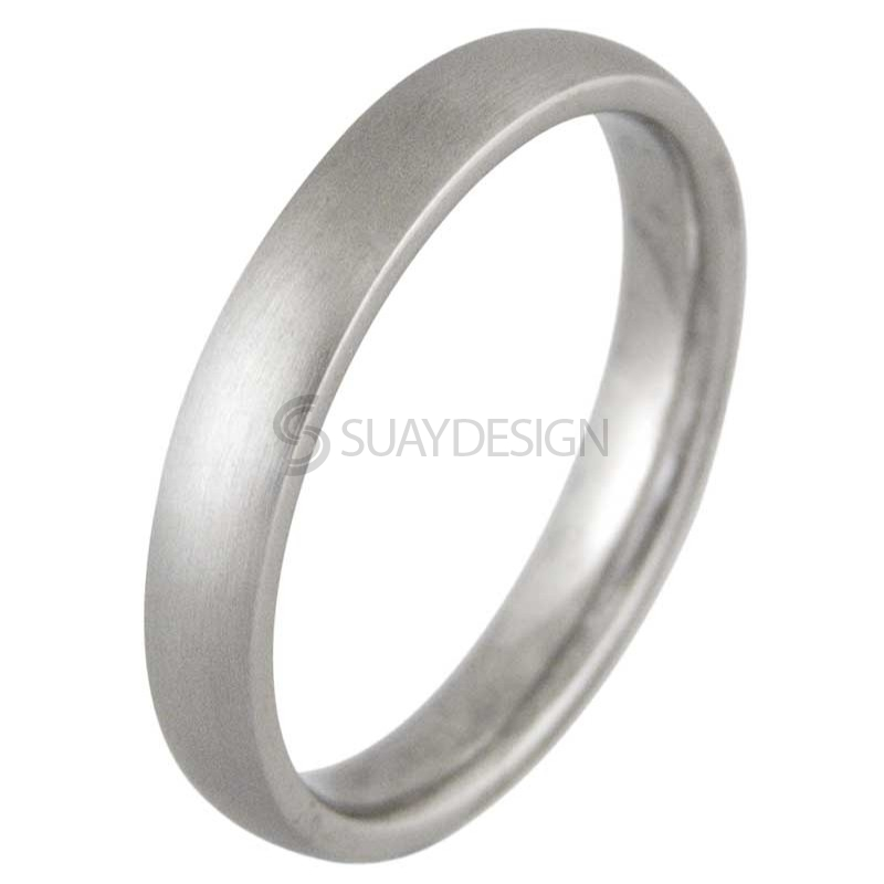 Women's Lust 4 Satin Titanium Ring