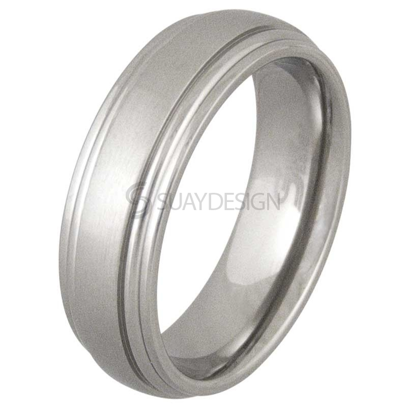 Women's Raise Titanium Ring