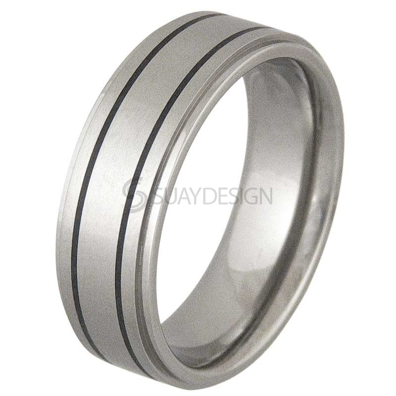 Women's Moral Titanium Ring
