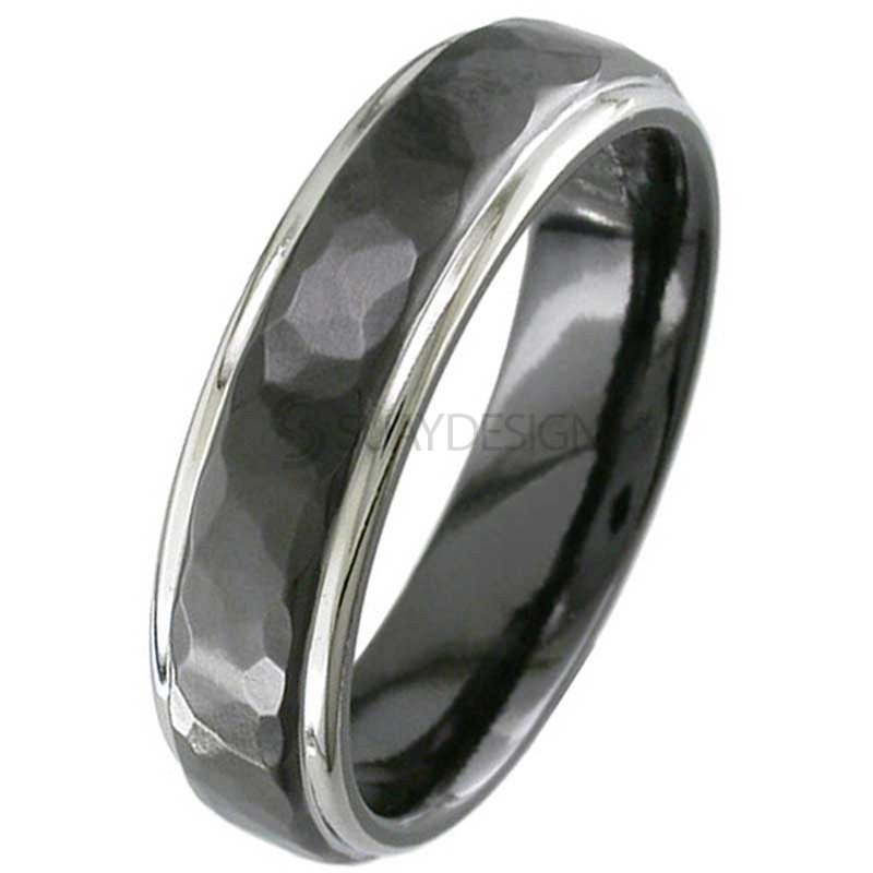 Zirconium Ring 4001HRB-REV