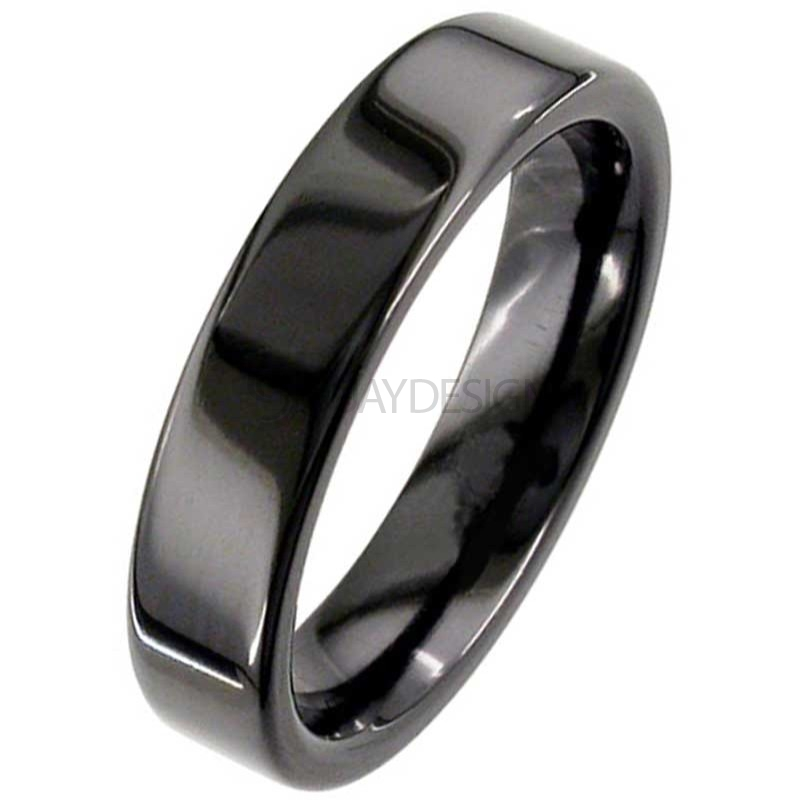 Alternative photo: Men's Zirconium Ring 4026B