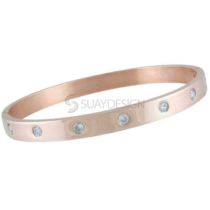 Women's Coco Rose Steel Bangle
