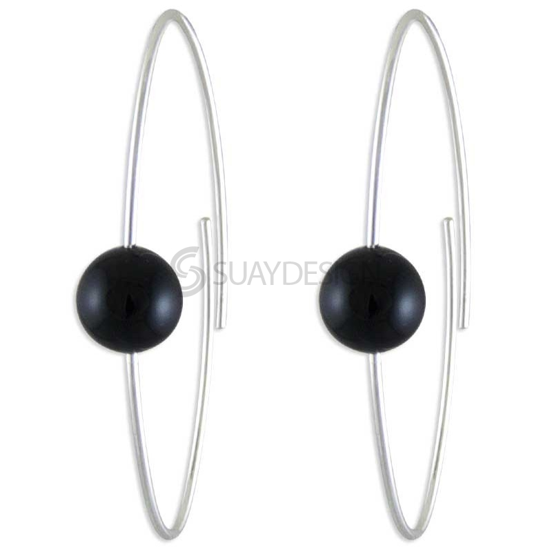Women's Applause Onyx Earrings