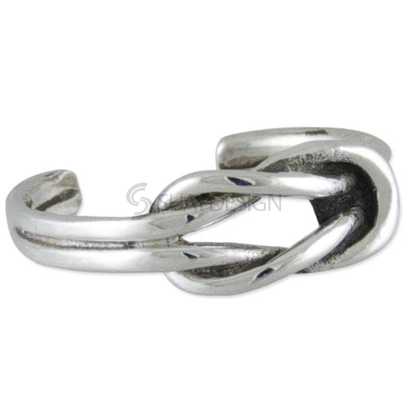 Women's Celtic Knot Silver Toe Ring