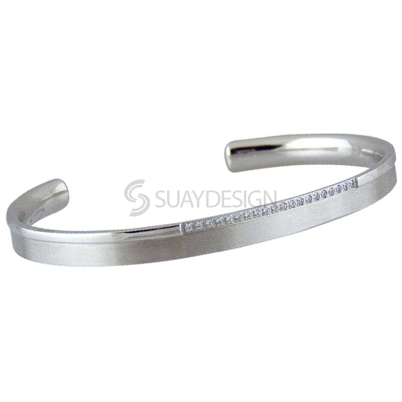 Women's Vista Steel Bangle