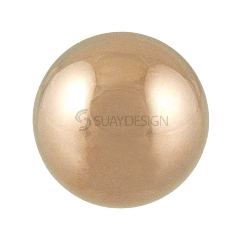 Women's Origin Polished Rose Globe