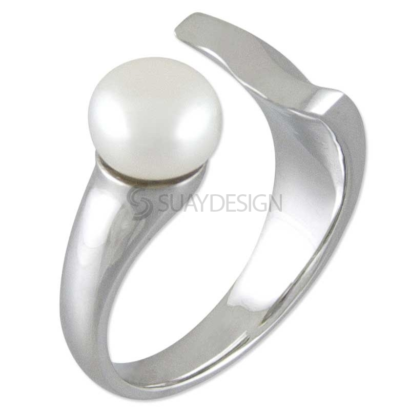 Women's Worship Silver Ring