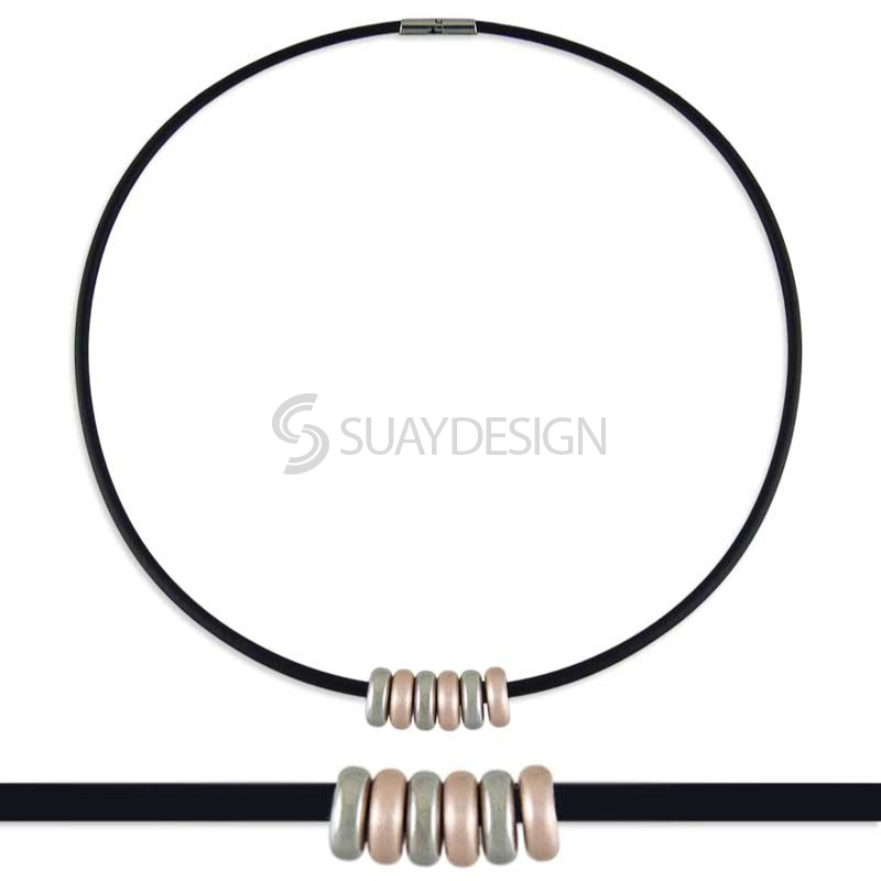Synthesis 5 Titanium Necklace