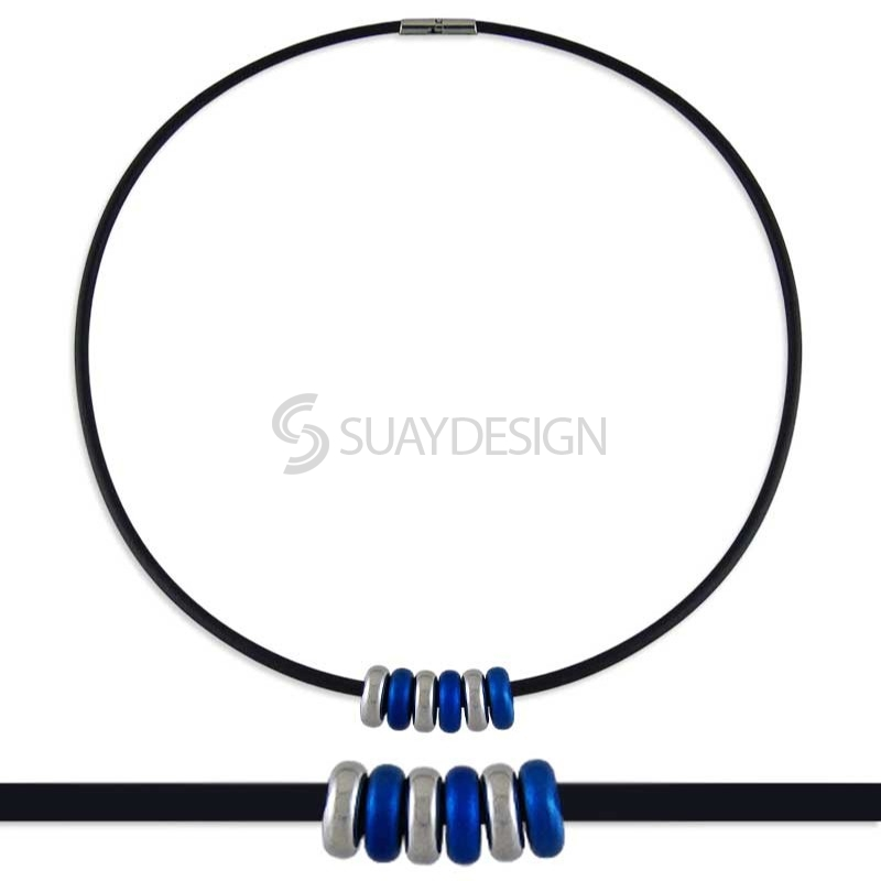 Synthesis 6 Titanium Necklace