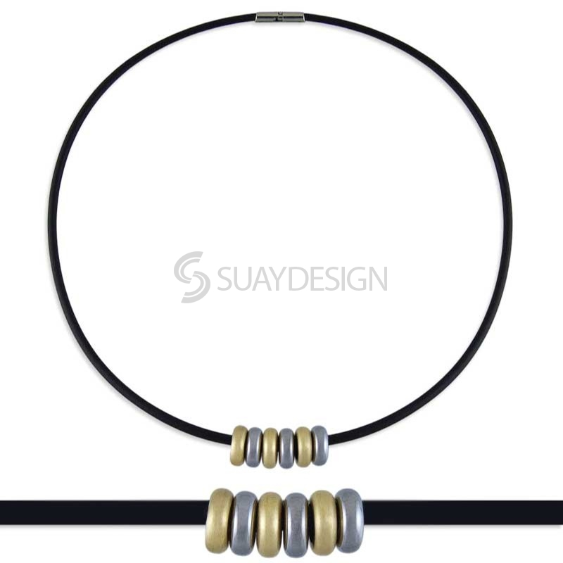 Synthesis 10 Titanium Necklace