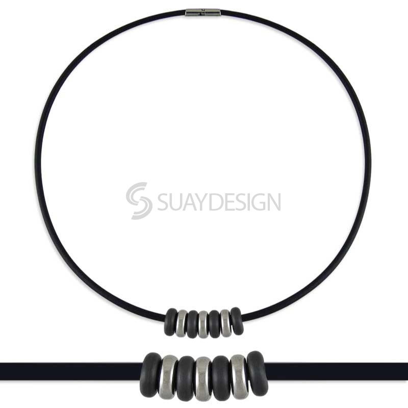 Synthesis 14 Titanium Necklace