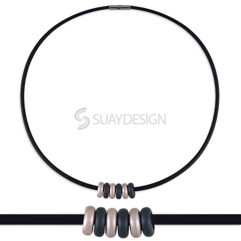 Synthesis 16 Titanium Necklace