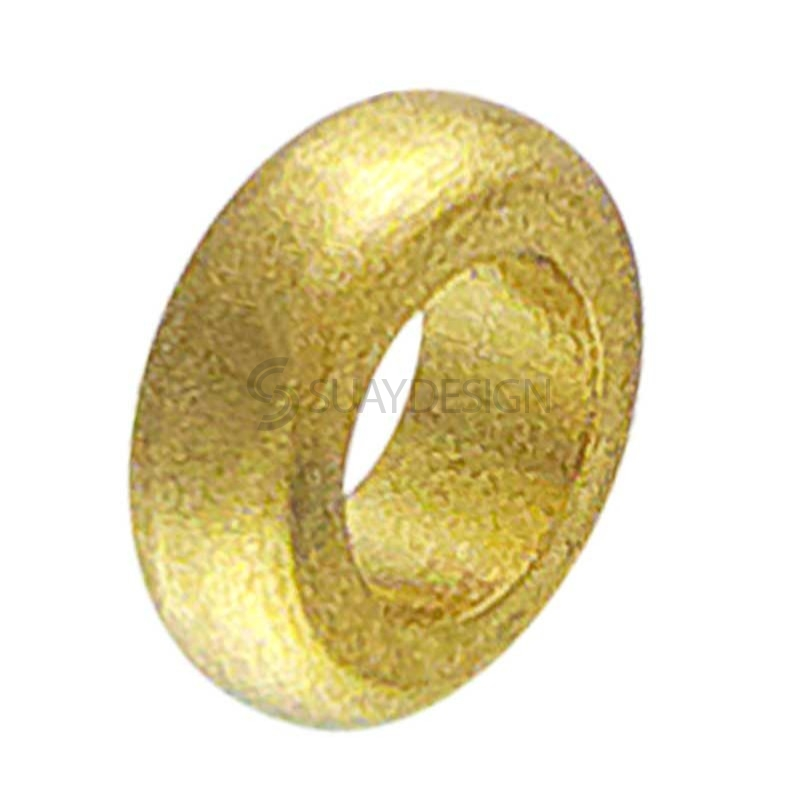 Synthesis Gold Titanium Ring