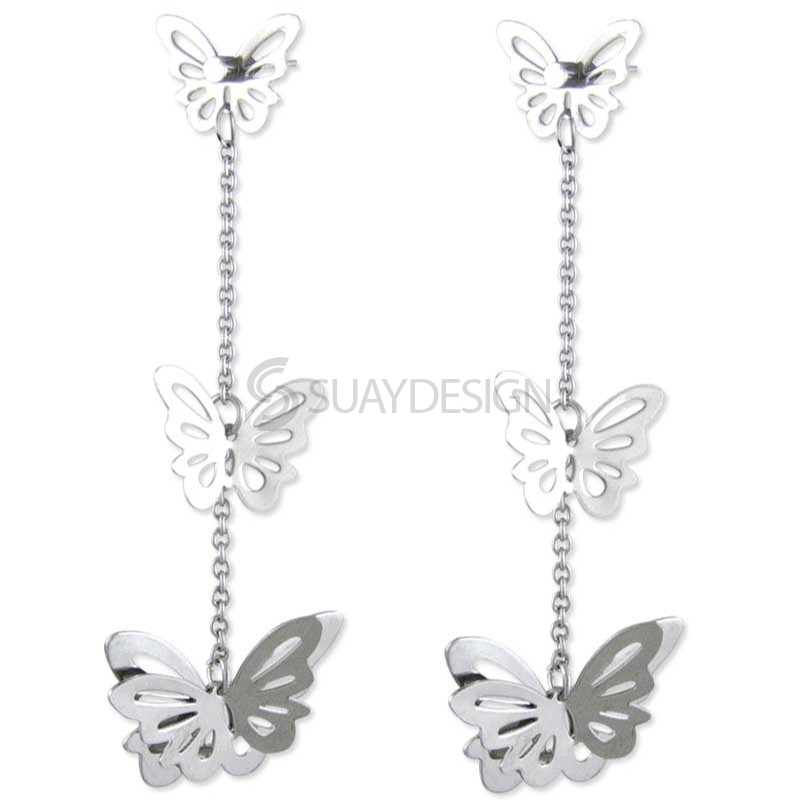 Women's Steel Butterfly Trio