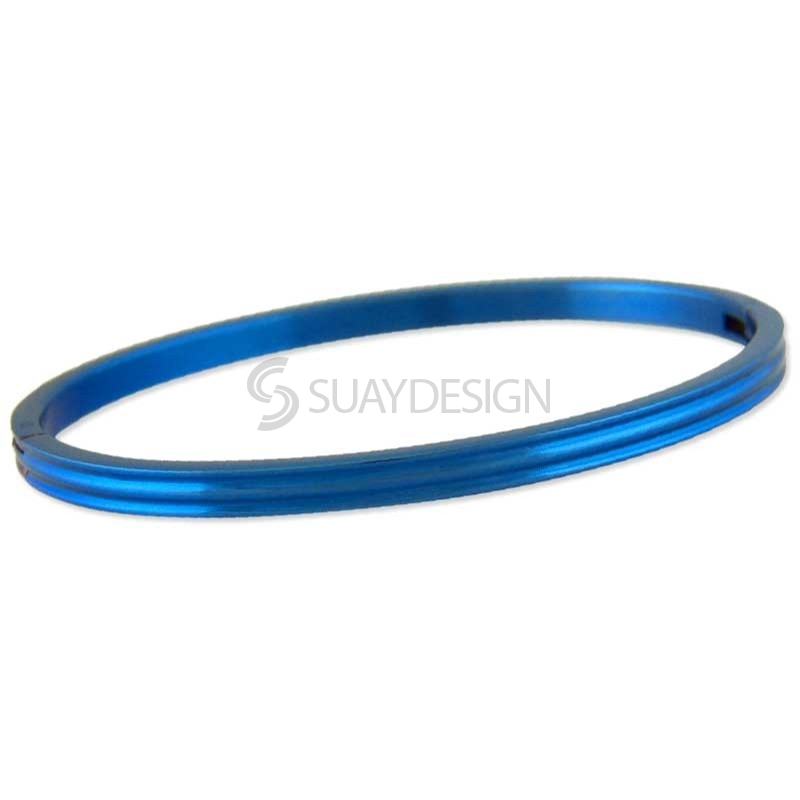Women's Relinquish Blue Steel Bangle