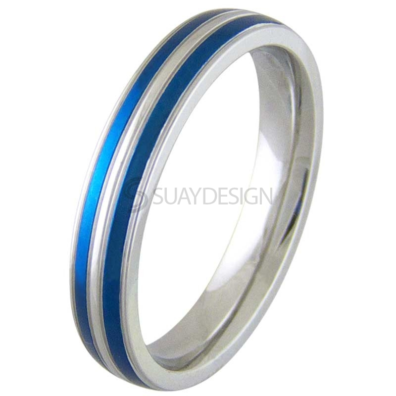 Alive Electric Blue Ring
