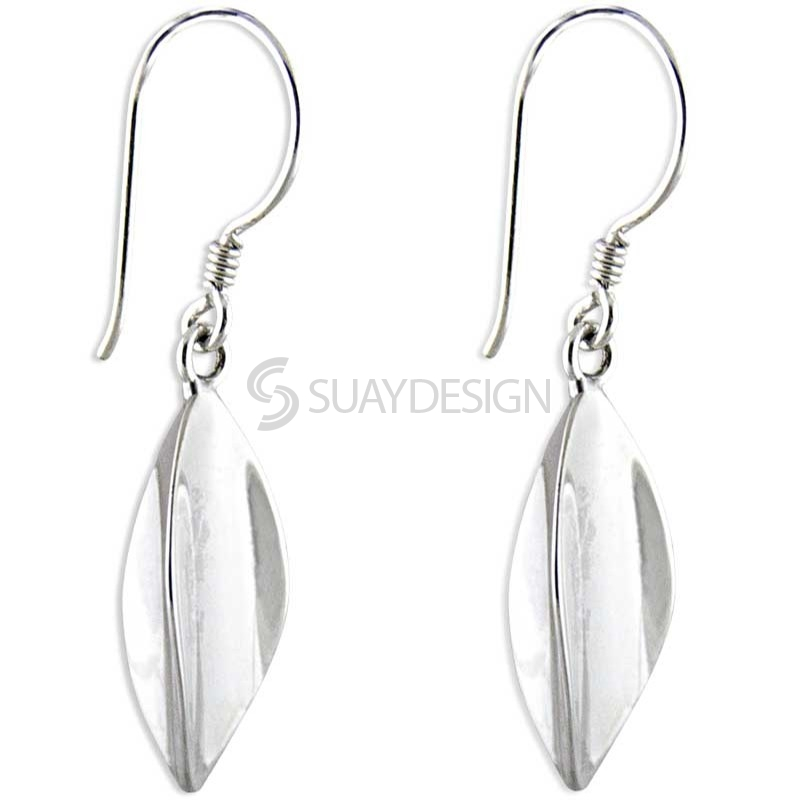 Women's Silver Trilogy Earrings