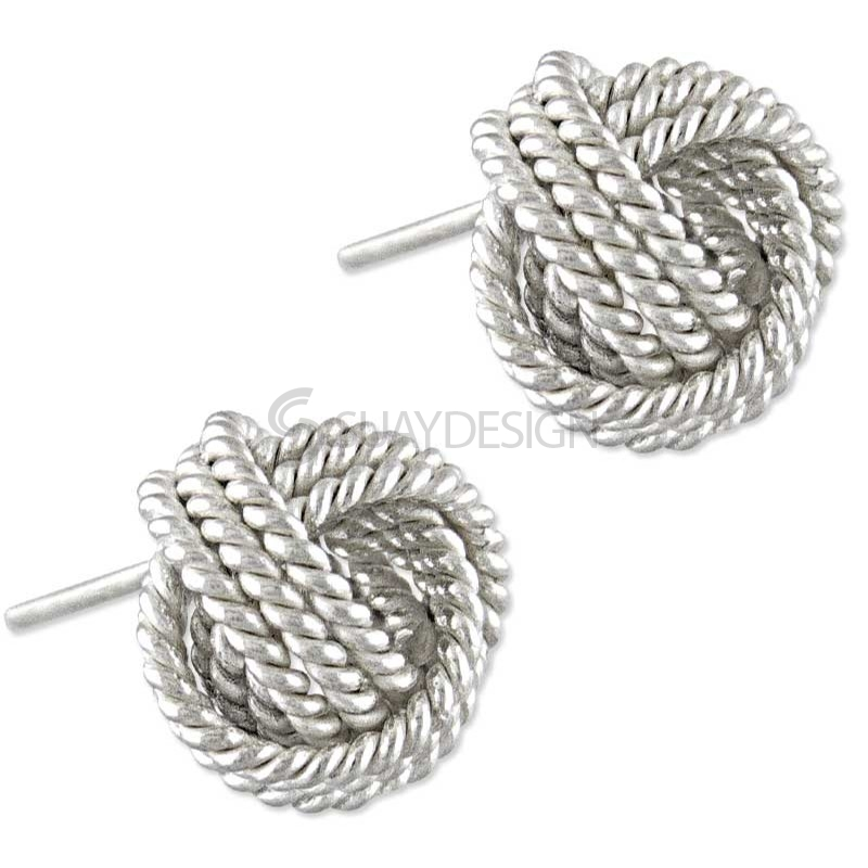 Women's Style Silver Stud Earrings