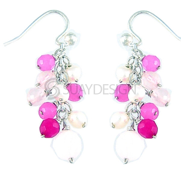 Women's Blush Earrings