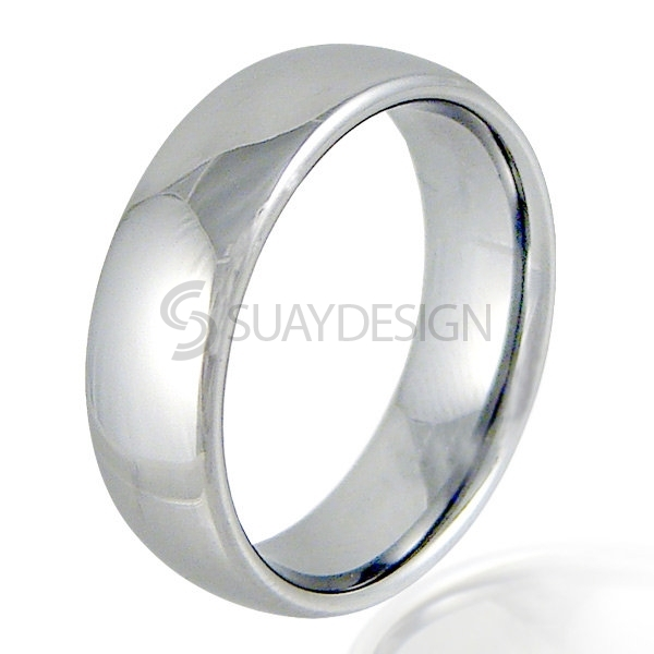 Women's Savant 8 Tungsten Ring