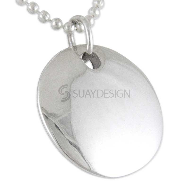 Women's Silver Beloved Necklace