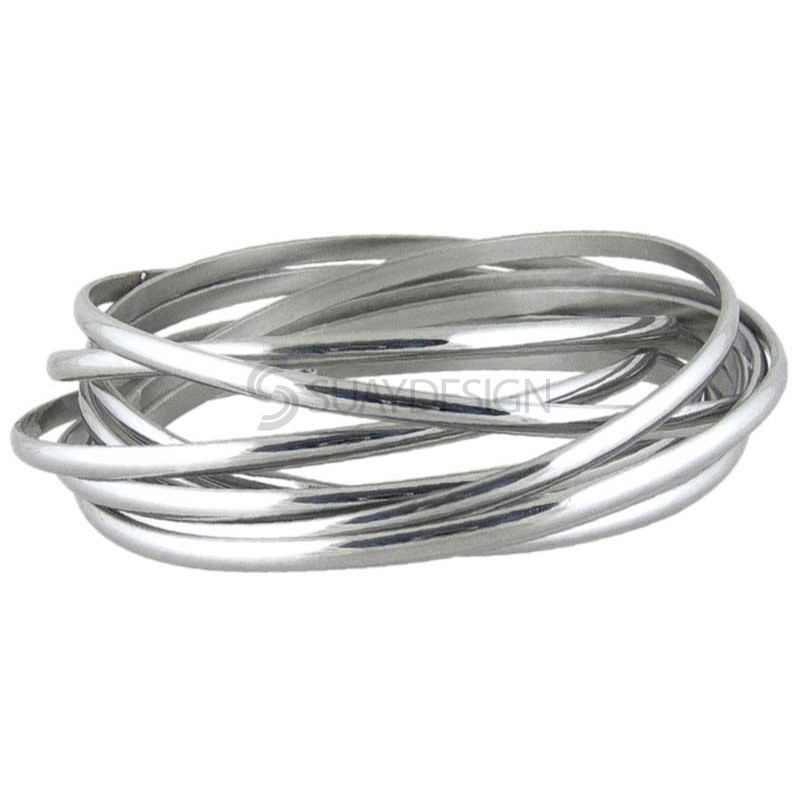 Women's Merge Steel Bangle
